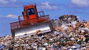 Вывоз мусора контейнером 8 м3