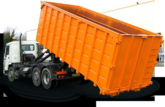 Вывоз мусора контейнером в Московской области