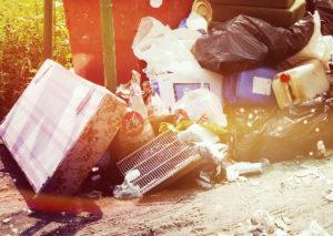 Вывоз мусора контейнером круглосуточно