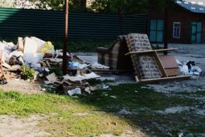 Вывоз мусора во Внуково